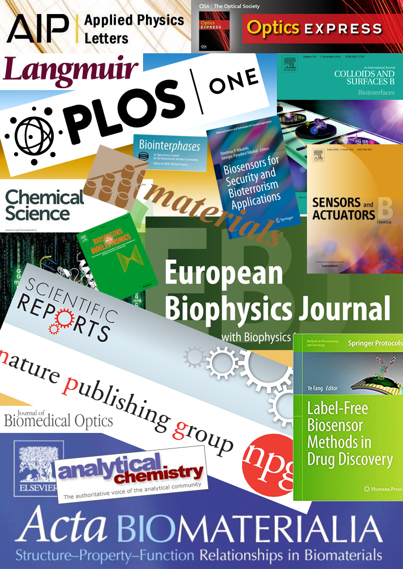Nanobiosensorics Laboratory's publications